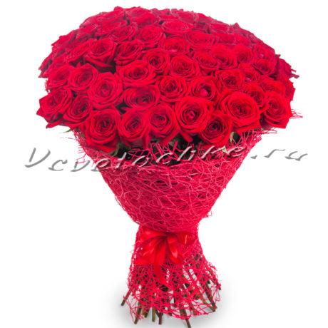 доставка цветов Москва, цветы Москва, купить цветы в Москве, цветы недорого Москва, заказать цветы Москва, цветы, Москва, доставка, 51 красная роза, красная роза