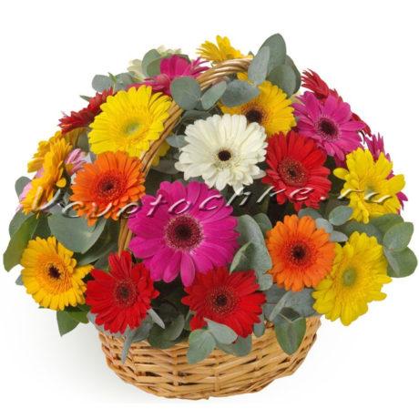 доставка цветов Москва, цветы Москва, купить цветы в Москве, цветы недорого Москва, заказать цветы Москва, цветы, Москва, доставка, гербера, корзина, корзина гербер