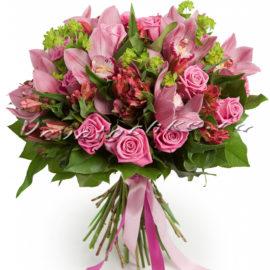 доставка цветов Москва, цветы Москва, купить цветы в Москве, цветы недорого Москва, заказать цветы Москва, цветы, Москва, доставка, орхидея, альстромерия, роза