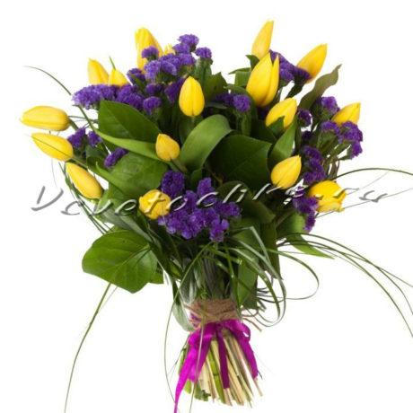 доставка цветов Москва, цветы Москва, купить цветы в Москве, цветы недорого Москва, заказать цветы Москва, цветы, Москва, доставка, тюльпаны, статица, букет тюльпанов