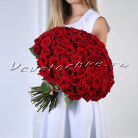 Аренда букета из 101 розы для фото, аренда букета, прокат букета, доставка цветов Москва