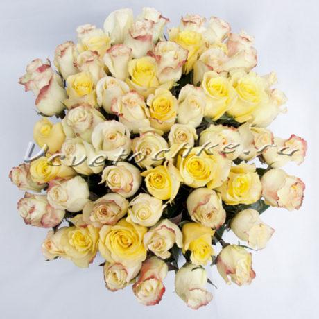 доставка цветов Москва, цветы Москва, купить цветы в Москве, цветы недорого Москва, заказать цветы Москва, цветы, Москва, доставка, букет 61 роза желтых оттенков, желтая роза, букет, букет желтых роз