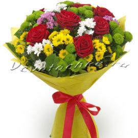 доставка цветов Москва, цветы Москва, купить цветы в Москве, цветы недорого Москва, заказать цветы Москва, цветы, Москва, доставка, букет, хризантема, роза, роза красная