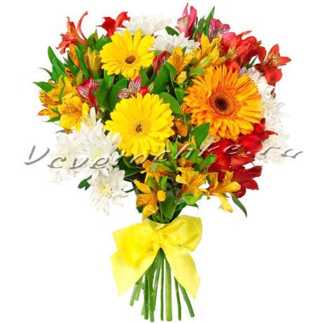 доставка цветов Москва, цветы Москва, купить цветы в Москве, цветы недорого Москва, заказать цветы Москва, цветы, Москва, доставка, хризантема, гербера, альстромерия, букет гербер