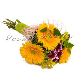 доставка цветов Москва, цветы Москва, купить цветы в Москве, цветы недорого Москва, заказать цветы Москва, цветы, Москва, доставка, гербера, хризантема, хризантема кустовая, букет