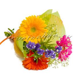 доставка цветов Москва, цветы Москва, купить цветы в Москве, цветы недорого Москва, заказать цветы Москва, цветы, Москва, доставка, гербера, статица, гипсофила, букет