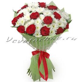 доставка цветов Москва, цветы Москва, купить цветы в Москве, цветы недорого Москва, заказать цветы Москва, цветы, Москва, доставка, роза, красная роза, хризантема, белая хризантема, букет