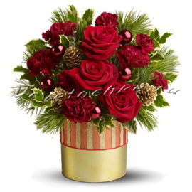 доставка цветов Москва, цветы Москва, купить цветы в Москве, цветы недорого Москва, заказать цветы Москва, цветы, Москва, доставка, зимние композиции, композиция, зима, зимняя, новый год
