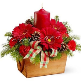 доставка цветов Москва, цветы Москва, купить цветы в Москве, цветы недорого Москва, заказать цветы Москва, цветы, Москва, доставка, новый год, зима, новогодняя композиция, композиции