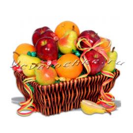 доставка цветов Москва, цветы Москва, купить цветы в Москве, цветы недорого Москва, заказать цветы Москва, цветы, Москва, доставка, корзина, корзина фруктов, яблоки, груша, апельсины, конфеты