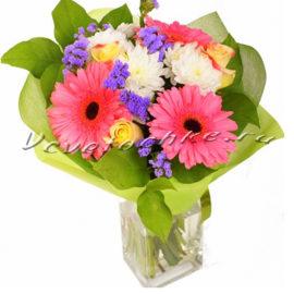 доставка цветов Москва, цветы Москва, купить цветы в Москве, цветы недорого Москва, заказать цветы Москва, цветы, Москва, доставка, букет, хризантема, кустовая хризантема, гербера, роза, желтая роза