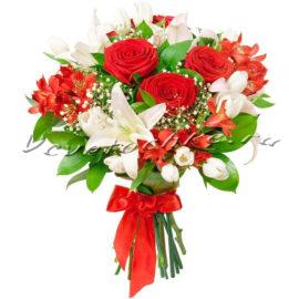 доставка цветов Москва, цветы Москва, купить цветы в Москве, цветы недорого Москва, заказать цветы Москва, цветы, Москва, доставка, букет, роза, красная роза, лилия, белая лилия, альстромерия, тюльпаны, тюльпан белый, гипсофила
