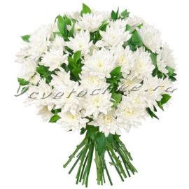 доставка цветов Москва, цветы Москва, купить цветы в Москве, цветы недорого Москва, заказать цветы Москва, цветы, Москва, доставка, букет, хризантема, белая хризантема, букет хризантем