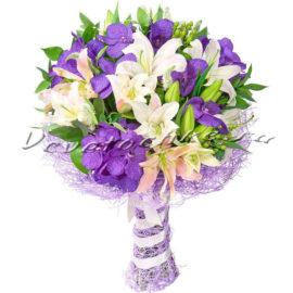 доставка цветов Москва, цветы Москва, купить цветы в Москве, цветы недорого Москва, заказать цветы Москва, цветы, Москва, доставка, букет, орхидея, лилия, белая лилия, розовая лилия