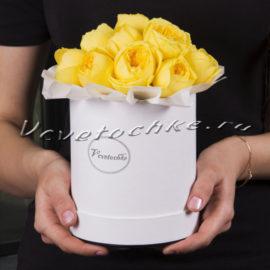 доставка цветов Москва, цветы Москва, купить цветы в Москве, цветы недорого Москва, заказать цветы Москва, цветы, Москва, доставка, шляпная коробка, коробка, шляпная коробка цветов, коробка цветов, роза, роза каталина, каталина, коробка роз