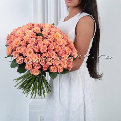 доставка цветов Москва, цветы Москва, купить цветы в Москве, цветы недорого Москва, заказать цветы Москва, цветы, Москва, доставка, букет, роза, персиковая роза, букет роз, огромный букет роз