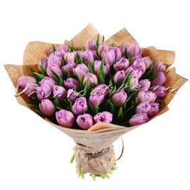 доставка цветов Москва, цветы Москва, купить цветы в Москве, цветы недорого Москва, заказать цветы Москва, цветы, Москва, доставка, букет, тюльпаны, фиолетовые тюльпаны, букет тюльпанов