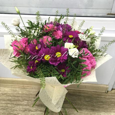доставка цветов Москва, цветы Москва, купить цветы в Москве, цветы недорого Москва, заказать цветы Москва, цветы, Москва, доставка, кустовая роза, хризантема, эустома, писташ