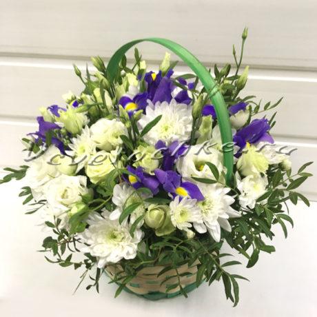доставка цветов Москва, цветы Москва, купить цветы в Москве, цветы недорого Москва, заказать цветы Москва, цветы, Москва, доставка, букет, композиция, ирисы, эустома, хризантема, роза, кустовая роза