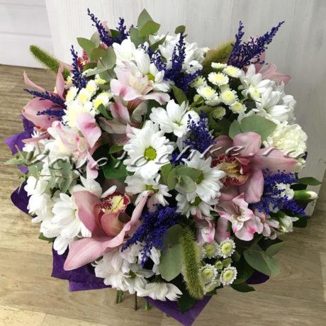доставка цветов Москва, цветы Москва, купить цветы в Москве, цветы недорого Москва, заказать цветы Москва, цветы, Москва, доставка, букет, орхидея, хризантема, хризантема кустовая, альстромерия, гвоздика, солидаго