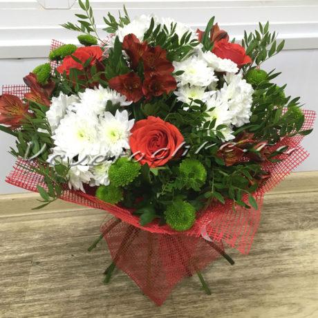 доставка цветов Москва, цветы Москва, купить цветы в Москве, цветы недорого Москва, заказать цветы Москва, цветы, Москва, доставка, букет, роза, хризантема, кустовая хризантема, альстромерия