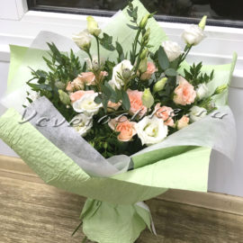 доставка цветов Москва, цветы Москва, купить цветы в Москве, цветы недорого Москва, заказать цветы Москва, цветы, Москва, доставка, букет, роза, кустовая роза, эустома