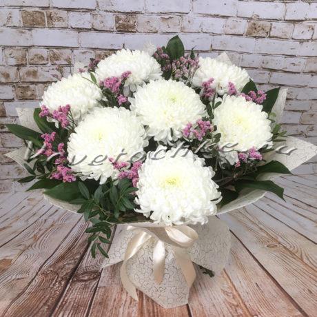 доставка цветов Москва, цветы Москва, купить цветы в Москве, цветы недорого Москва, заказать цветы Москва, цветы, Москва, доставка, букет, хризантема, одноголовая хризантема, букет хризантем