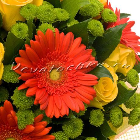 доставка цветов Москва, цветы Москва, купить цветы в Москве, цветы недорого Москва, заказать цветы Москва, цветы, Москва, доставка, букет, гербера, роза, желтая роза, хризантема, филин грин