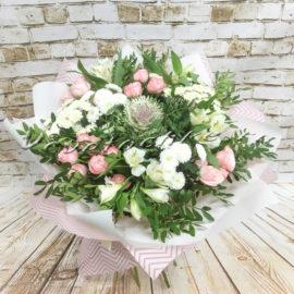 доставка цветов Москва, цветы Москва, купить цветы в Москве, цветы недорого Москва, заказать цветы Москва, цветы, Москва, доставка, букет, роза, кустовая роза, альстромерия, брасика, сантини