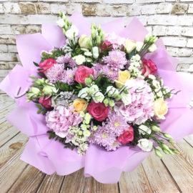 доставка цветов Москва, цветы Москва, купить цветы в Москве, цветы недорого Москва, заказать цветы Москва, цветы, Москва, доставка, букет, хризантема, кустовая хризантема, роза, эустома, гортензия
