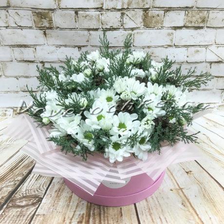 доставка цветов Москва, цветы Москва, купить цветы в Москве, цветы недорого Москва, заказать цветы Москва, цветы, Москва, доставка, букет, композиция, хризантема, кустовая хризантема, шишки, можжевельник