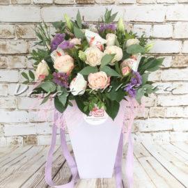 доставка цветов Москва, цветы Москва, купить цветы в Москве, цветы недорого Москва, заказать цветы Москва, цветы, Москва, доставка, букет, роза, кустовая роза, эустома, эвкалипт