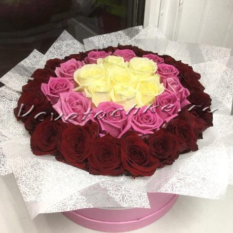 доставка цветов Москва, цветы Москва, купить цветы в Москве, цветы недорого Москва, заказать цветы Москва, цветы, Москва, доставка, букет, шляпная коробка, коробка, коробка цветов, коробка роз, роза