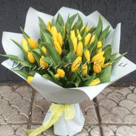 доставка цветов Москва, цветы Москва, купить цветы в Москве, цветы недорого Москва, заказать цветы Москва, цветы, Москва, доставка, букет, тюльпаны, желтые тюльпаны, букет тюльпанов, букет желтых тюльпанов