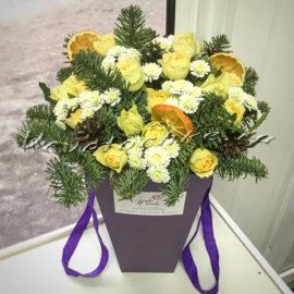 доставка цветов Москва, цветы Москва, купить цветы в Москве, цветы недорого Москва, заказать цветы Москва, цветы, Москва, доставка, букет, композиция, зимняя, роза, кустовая роза, хризантема, кустовая хризантема, сантини, апельсин, нобилис