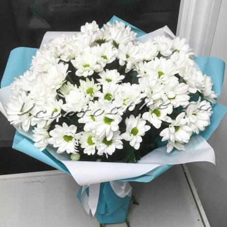 доставка цветов Москва, цветы Москва, купить цветы в Москве, цветы недорого Москва, заказать цветы Москва, цветы, Москва, доставка, букет, хризантема, кустовая хризантема, белая хризантема, букет из хризантем