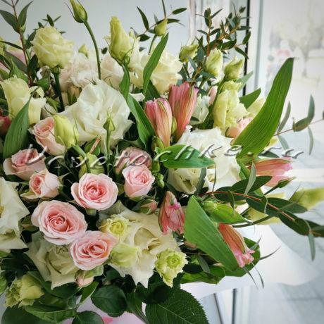 доставка цветов Москва, цветы Москва, купить цветы в Москве, цветы недорого Москва, заказать цветы Москва, цветы, Москва, доставка, букет, альстромерия, роза, кустовая роза, эустома, эвкалипт