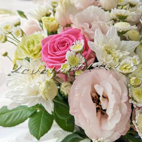 доставка цветов Москва, цветы Москва, купить цветы в Москве, цветы недорого Москва, заказать цветы Москва, цветы, Москва, доставка, гортензия, шляпная коробка, роза, хризантема, эустома, сталлион, гвоздика