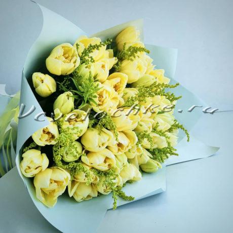 доставка цветов Москва, цветы Москва, купить цветы в Москве, цветы недорого Москва, заказать цветы Москва, цветы, Москва, доставка, букет, тюльпаны, желтые тюльпаны, букет тюльпанов, букет желтых тюльпанов, пионовидный тюльпан
