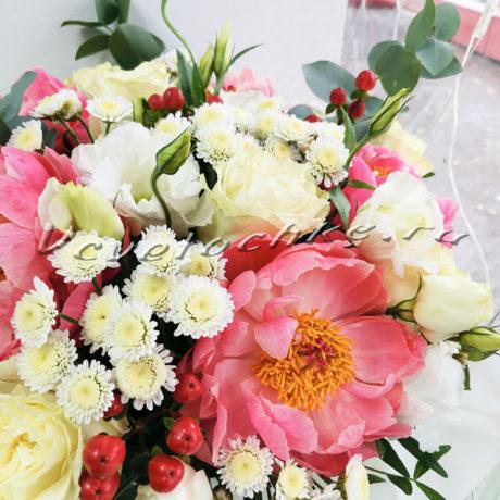доставка цветов Москва, цветы Москва, купить цветы в Москве, цветы недорого Москва, заказать цветы Москва, цветы, Москва, доставка, коробка, шляпная коробка, коробка цветов, пионы, роза, эустома, сталлион